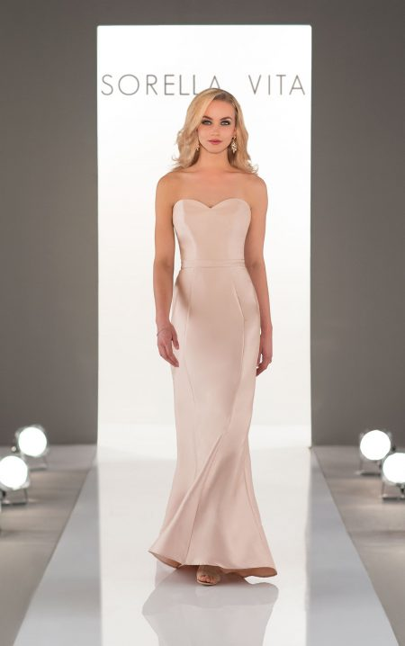 Mikado Bridesmaid dress by Sorella Vita - Style 9058