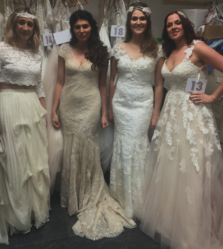 Bridal Catwalk and behind the scenes