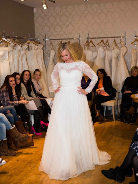 I finally gave in and joined the Bridal Catwalk fun!!