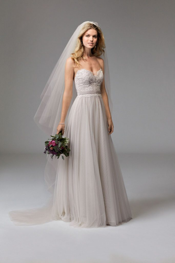 Floaty Lace Boho Wedding Dress - Dress Me Pretty