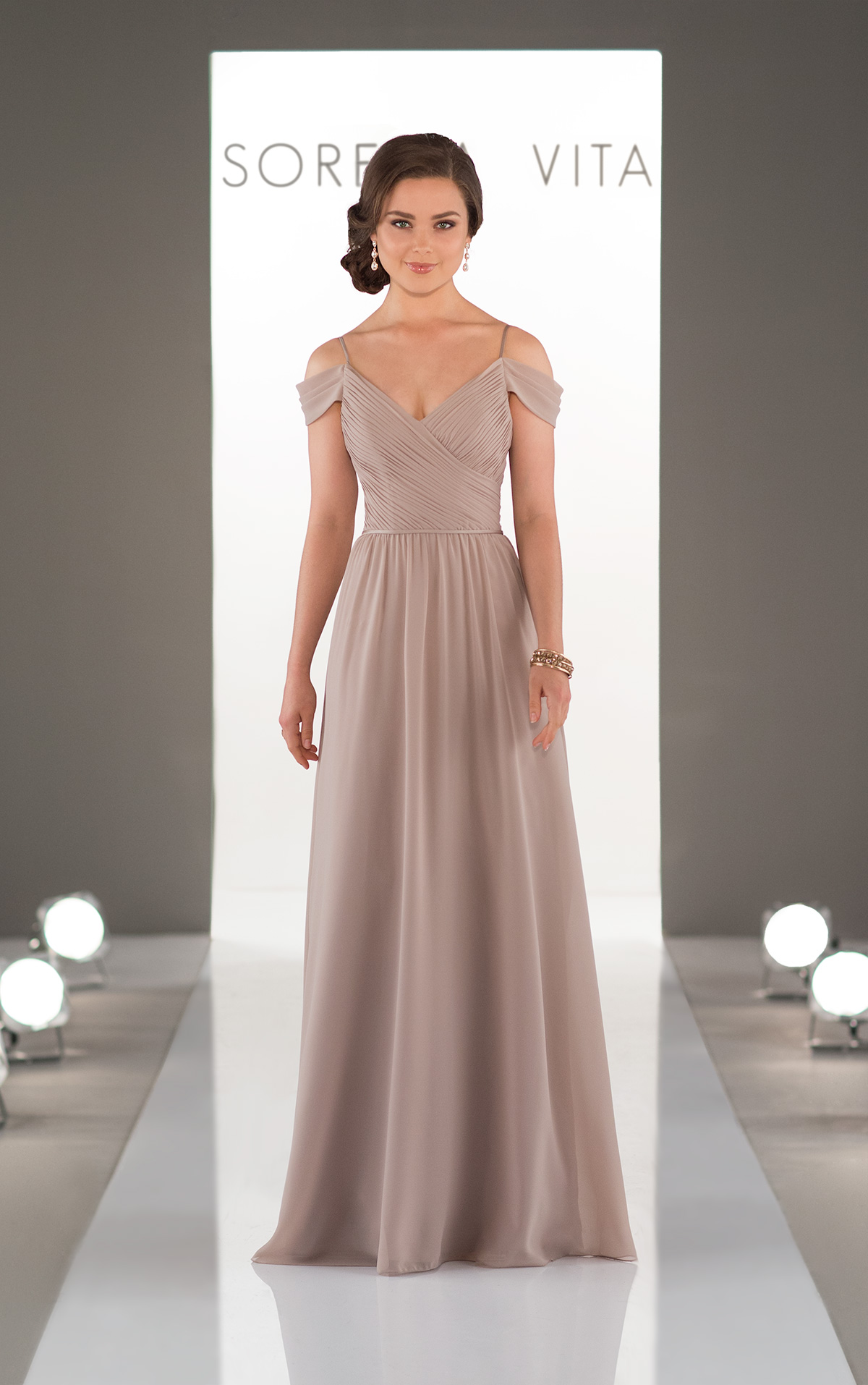 Off the shoulder bridesmaids dress style 8922 dress me pretty to try this gorgeous bridesmaids gown on at our bridal boutique in hinckley please contact us ombrellifo Gallery