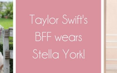 Taylor Swifts BFF wears Stella York