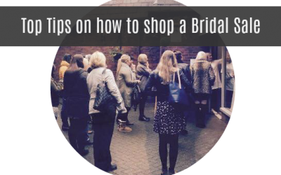 Tips to shop a bridal sale