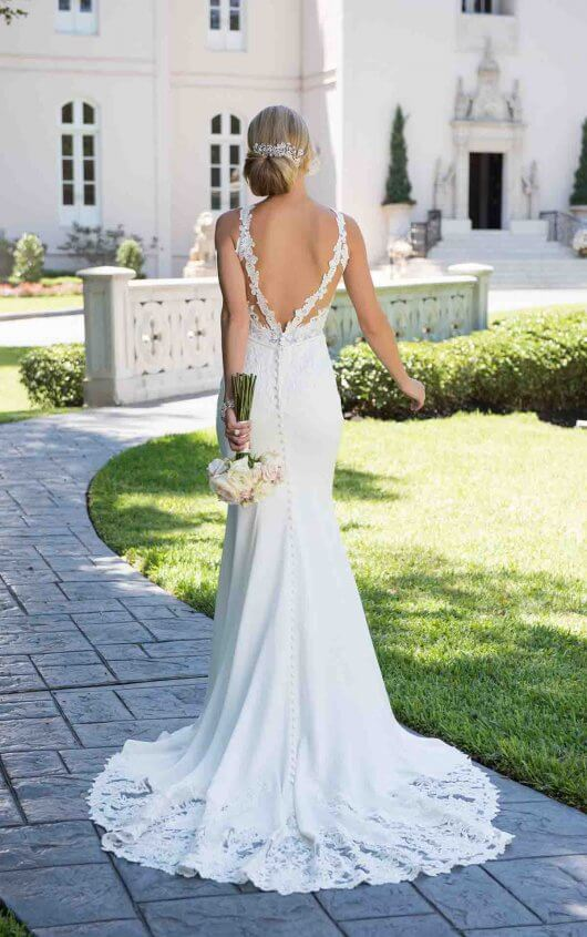 Low back wedding dress archives dress me pretty pretty favourite 0tell a friend junglespirit Images