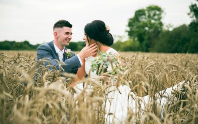 Summer Barn Wedding of Jade and Cael