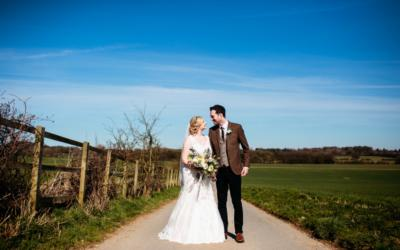 Kirsty and Ross tie the knot at idyllic Nottingham Wedding Venue